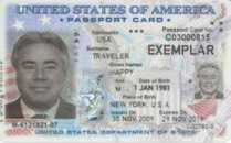 U.S. passport card