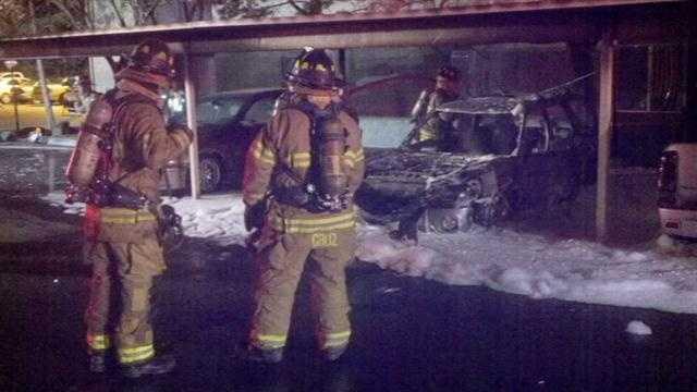 CAR FIRE AGAIN-FS x 3
