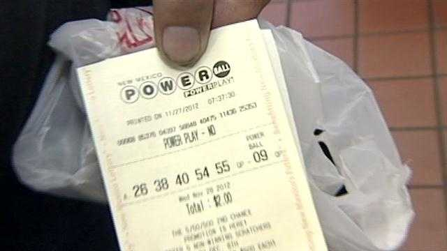 New Mexicans are hoping to beat the odds and win tonights record breaking Powerball Jackpot.