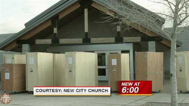 Thieves hit a local church, making off with expensive equipment and leaving only bibles behind.