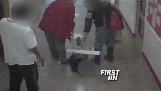 As early as tomorrow, two teachers could be facing child abuse charges after they were caught on camera dragging a young, blind disabled boy by his ankles.