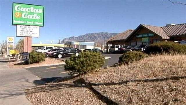 A restaurant employee lost their job after health inspectors issued a red sticker to a northeast Albuquerque café.