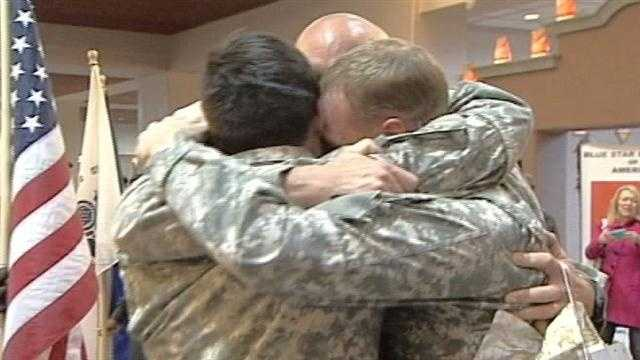 Five years have passed since the last time that three brothers from Albuquerque had seen each other. All have been fighting for their country, and we were there for the emotional reunion at the Sunport.