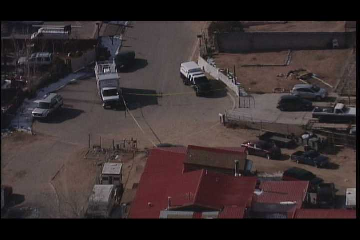The Santa Fe County Sheriff's Department is investigating a double homicide.