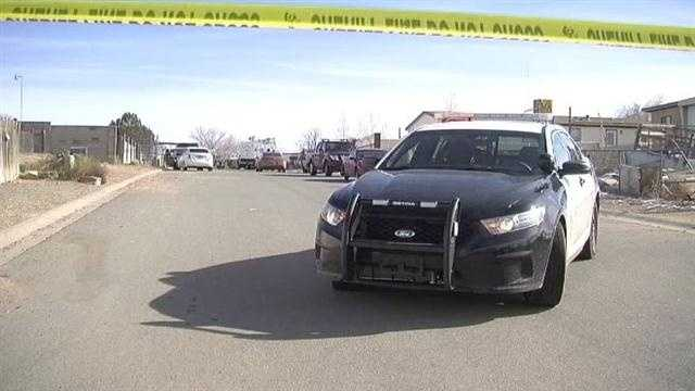 Two young men were killed Christmas night near Santa Fe, Police still looking for the killer who showed up to a holiday part, got into a fight and fled.