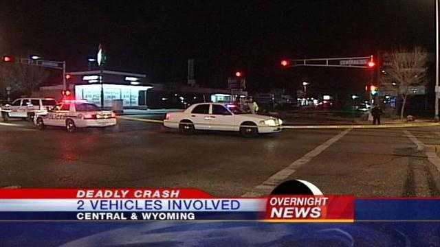 Overnight Crash Kills One