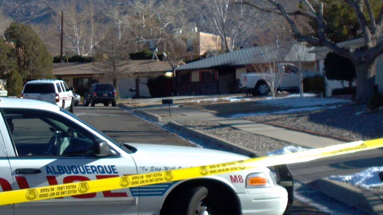 Police found a body inside a house that had been on fire Saturday morning.
