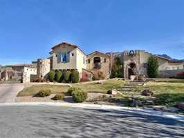Take a look inside this 4 bedroom, 7 bath mansion in Albuquerque, N.M. featured on realtor.com.