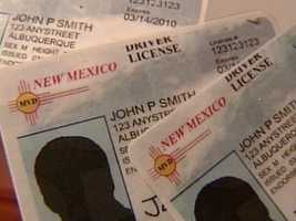 3. Driver's licenses for foreign nationals: