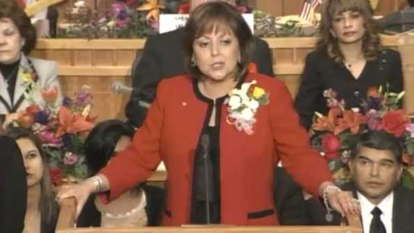 Susana Martinez State of the State