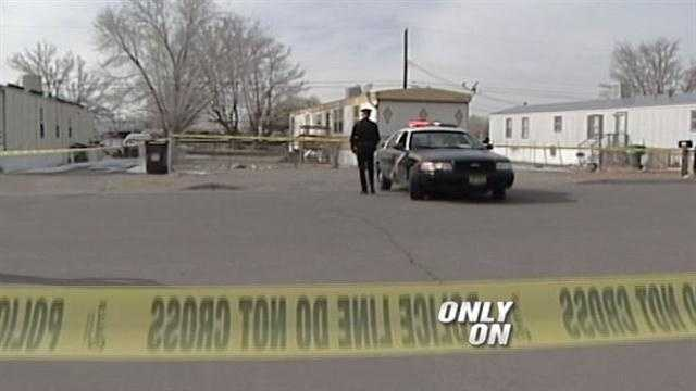 A possible domestic violence situation turns into a deadly officer involved shooting.