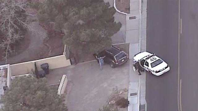 See Sky 7 photos from Thursday afternoon's police chase.