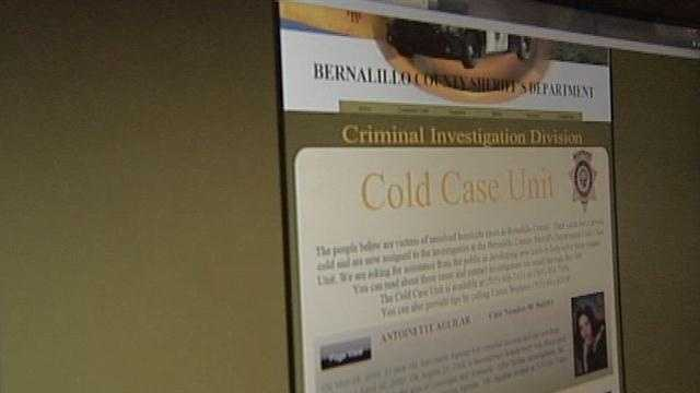 Dozens of murders in Bernalillo County remain unsolved leaving families without answers or closure. So the sheriff's office has launched a new effort to crack those cases, and bring those killers to justice.