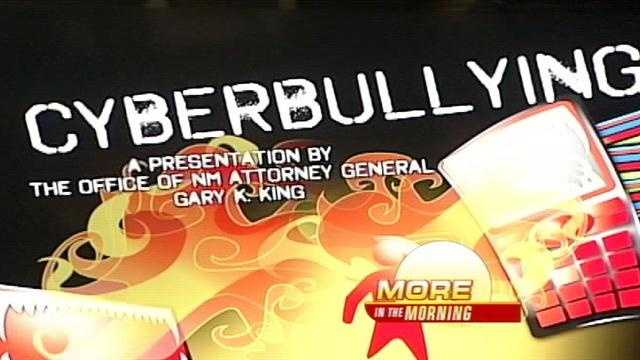 The New Mexico Attorney General's office is trying to prevent a specific type of bullying.