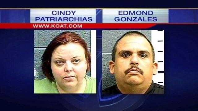 Las Cruces police bust a woman and her boyfriend after officers say they found a severely disabled 8-year-old girl living in a box.