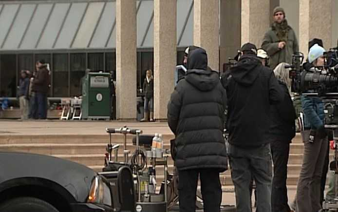 """Fresh off his big win at the Screen Actors Guild awards, Bryan Cranston and the """"Breaking Bad"""" crew are back in Albuquerque to film."""