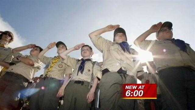 Boy Scout leader reacts to proposal to allow homosexuals