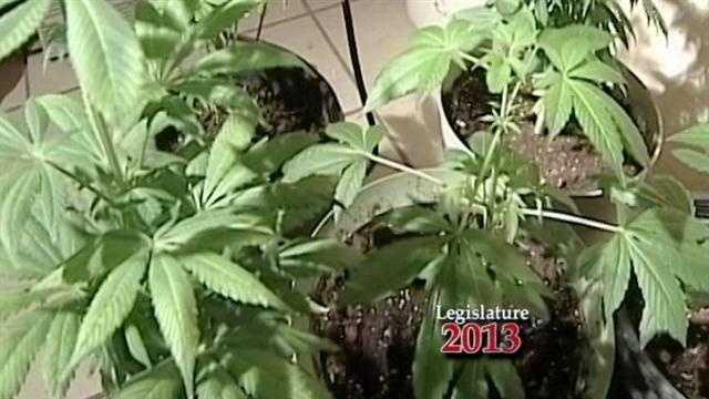 Pot Proposal At Legislature