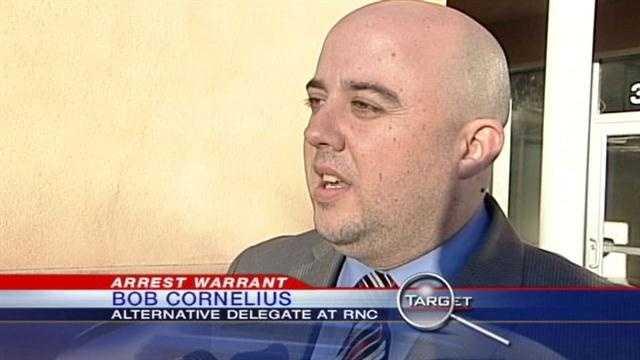 Former candidate arrest warrant