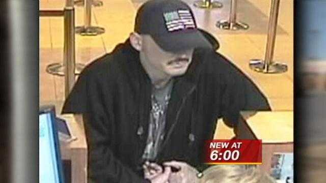 A warning for bank customers tonight! The FBI and police are on the hunt for a serial bank robber!