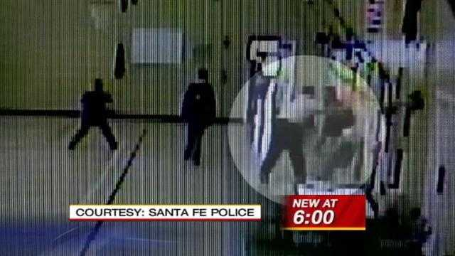 Santa Fe Police don't think he'll be charged with a crime, but parents say what happened was not appropriate.
