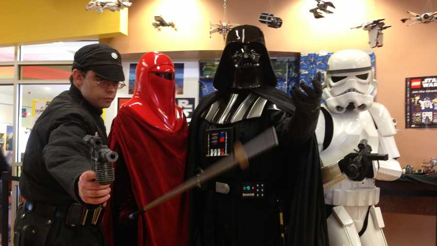 On Friday, Star Wars took over the Loma Colorado Main Library in Rio Rancho. Click through to see photos of Friday's events.
