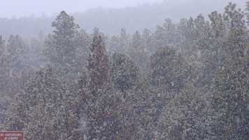Snow and rain are on the way for several parts of New Mexico. See where and when the storm is going to hit with our hour-by-hour forecast.