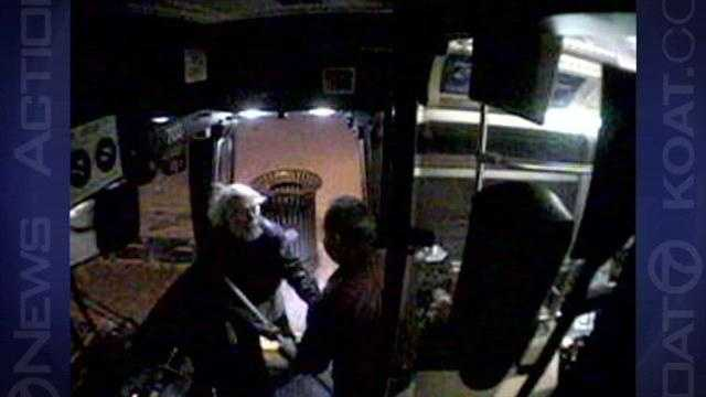 Video shows assault on city bus