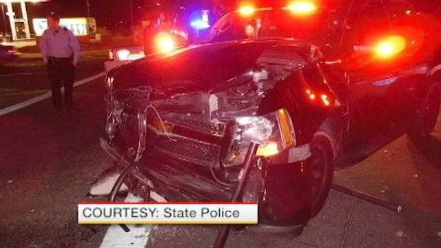 State cop involved in crash
