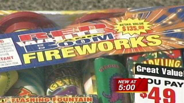 A controversial proposal that's failed twice before is set to go before the legislature once more. The bill would ban the sale of fireworks in severe weather conditions.