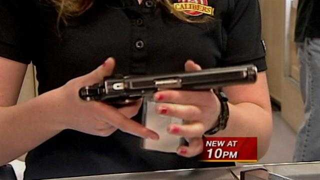 Gun range sees surge in women