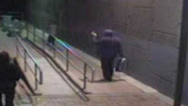Group caught tagging rail runner station