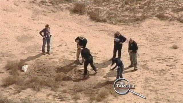 Strange coincidence? Or frightening new crimes? That's the question investigators are asking tonight. After finding human remains today in a south valley field, for the second time in two months.