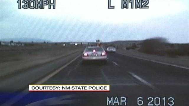 Seat belt crime starts police chase