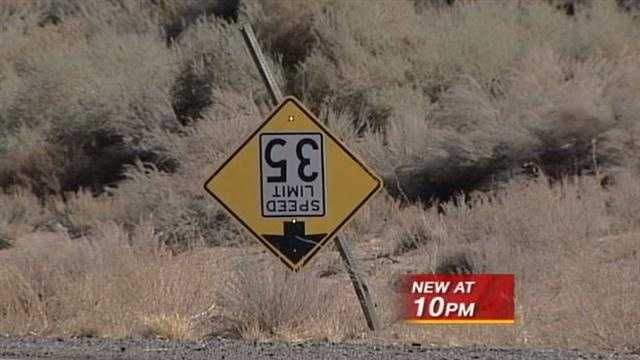 Rio Rancho police are looking for the thief who stole 2,000 dollars worth of ciry traffic signs.