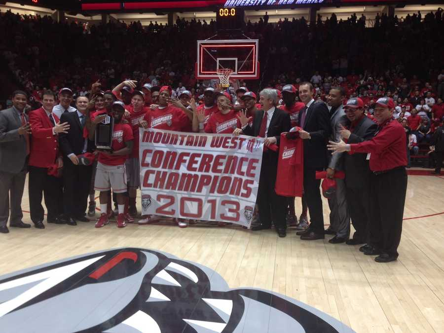 5. Alford's four conference championships with the New Mexico Lobos are more than he had in his prior 16 seasons with other schools.