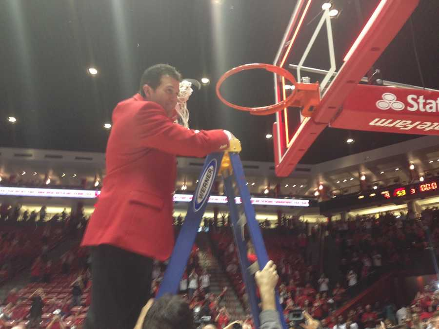 9. Alford has never coached for school for longer than eight seasons. This is his sixth season as Lobos head coach.