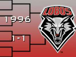 After a one year absence, the Lobos returned to the tournament on a mission. In the first round, UNM beat Kansas State by 21 points, snapping a 22-year victory drought in the tournament. In the round of 32, the Lobos grabbed an early lead over Georgetown but eventually lost by 11.