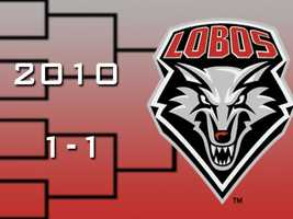 In 2010, Lobos head coach Steve Alford brought UNM back to the NCAA tournament with his highly-ranked team. New Mexico outlasted Montana in their first game before losing to Washington by 18.