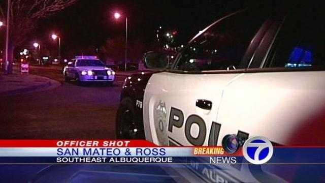 Police Officer Shot Overnight, Suspect Still on the Loose