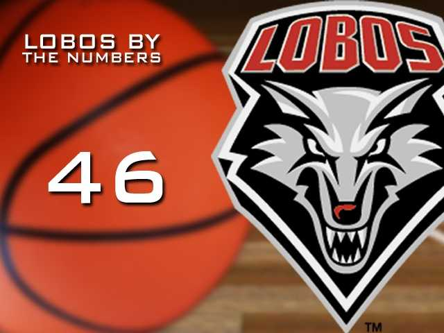 46: The amount of points Kendall Williams scored against Colorado State in a decisive Mountain West game.