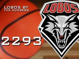 2,293: The number of points the Lobos have netted all season long.