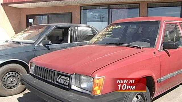 An Albuquerque dealership says a 1984 toyota could go for six figures.