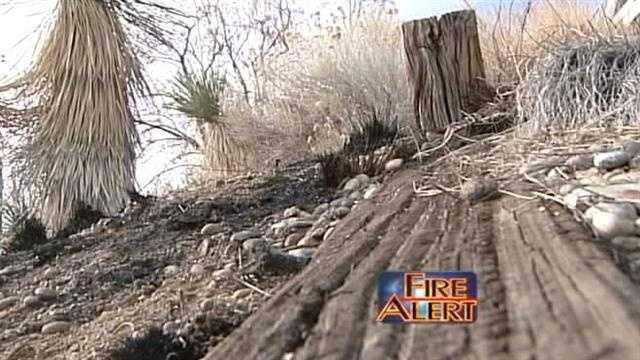 Albuquerque fire officials say arsonists are on the loose, setting dangerous brush fires in the far northeast heights.