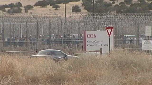 After spending hours in the Cibola County Prison yard, refusing to take order from officers, inmates are finally back in their cells.