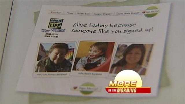 Organ Donation Registrations Up in New Mexico
