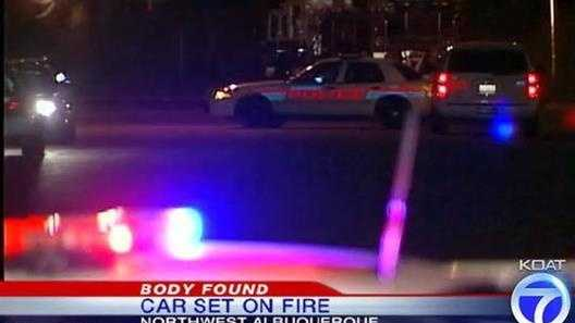 Burned body case