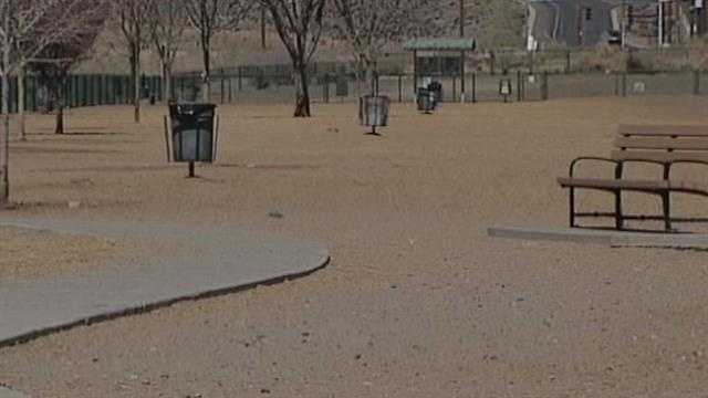 An evening at the dog park turns into a painful experience for one woman. She was hit in the back with a stray arrow.