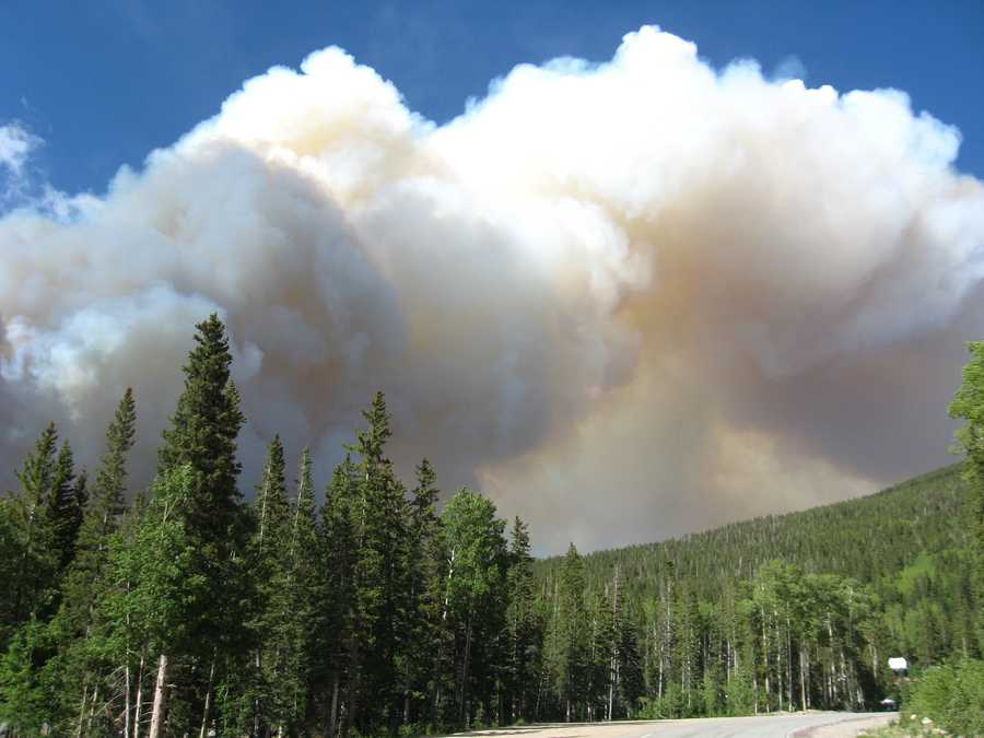 You can help us cover wildfire season by safely taking pictures and uploading them to the ulocal section of koat.com