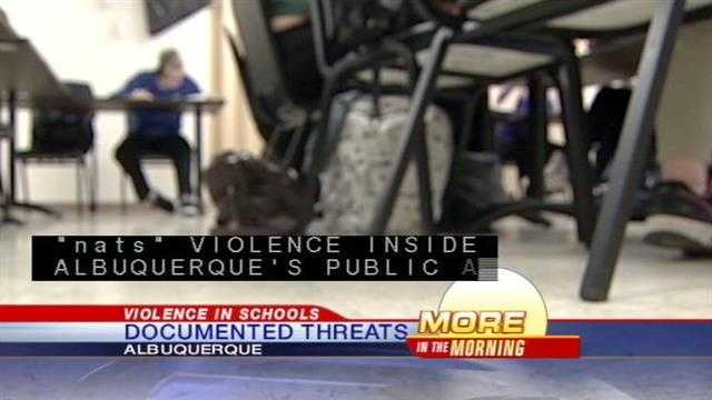 New numbers show just how much violence is happening in Albuquerque public and private schools.